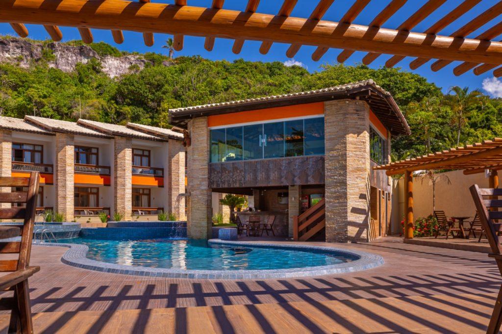 piscina hotel quinta do sol