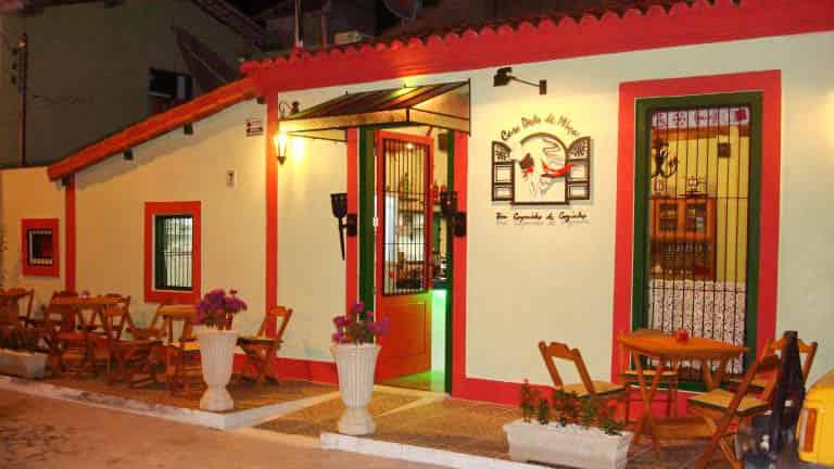 Restaurante Casa Dedo de Moça em Porto Seguro
