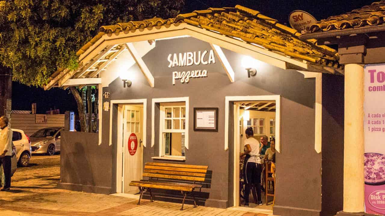 Pizzaria Sambuca em Porto Seguro