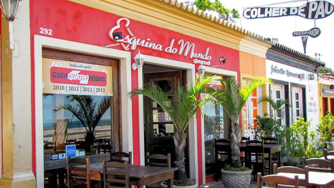Restaurantes Esquina do Mundo em Porto Seguro