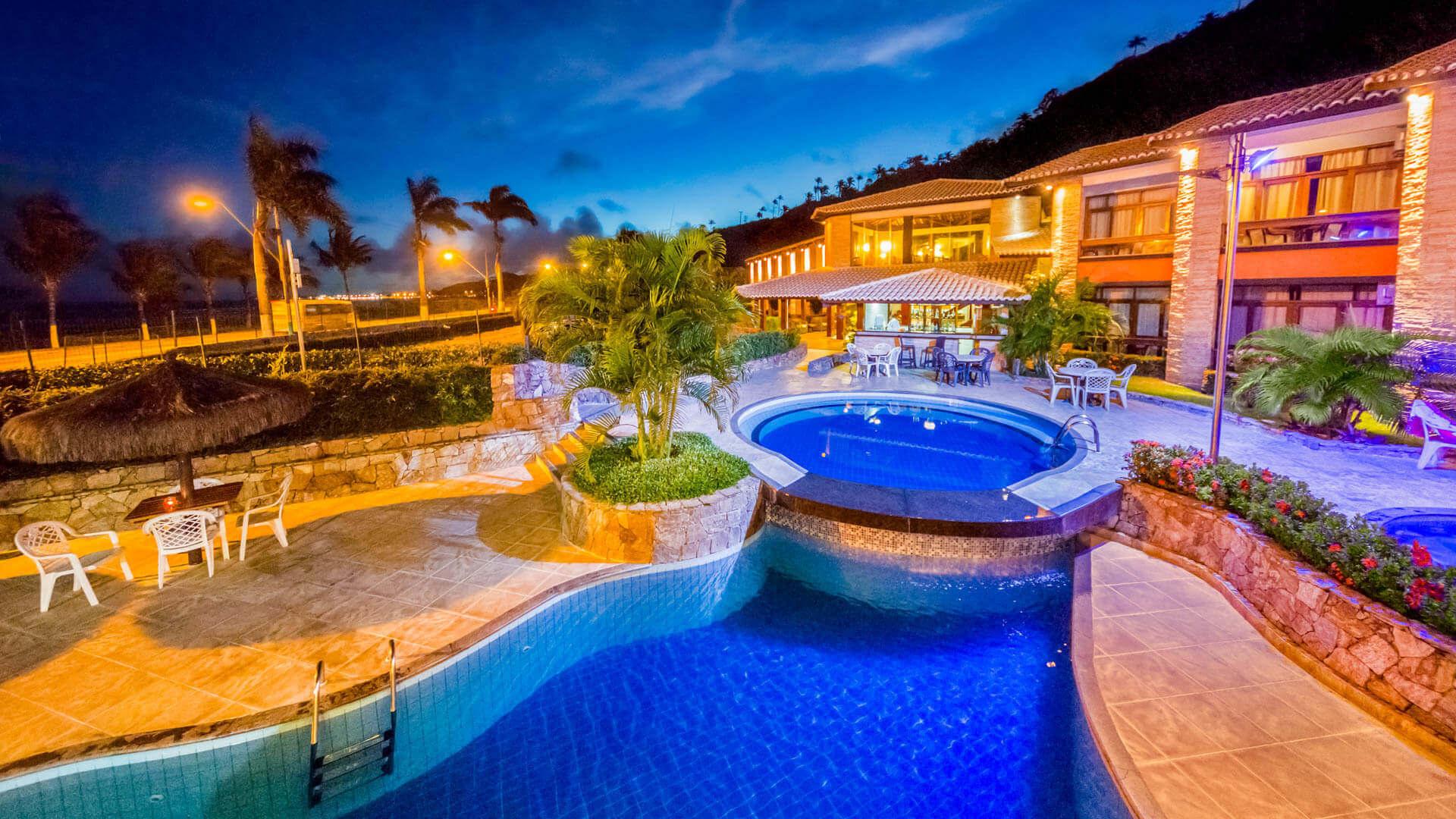 Piscina do Hotel Quinta do Sol
