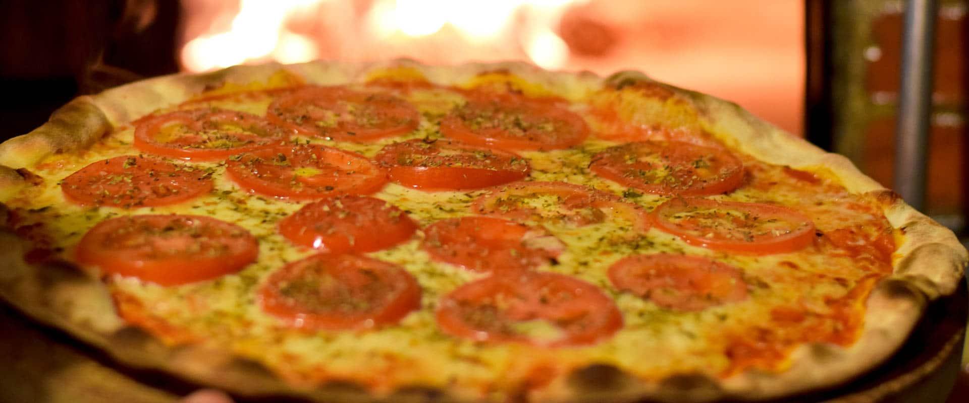 Pizza Na Barraca de Praia Recanto do Sossego