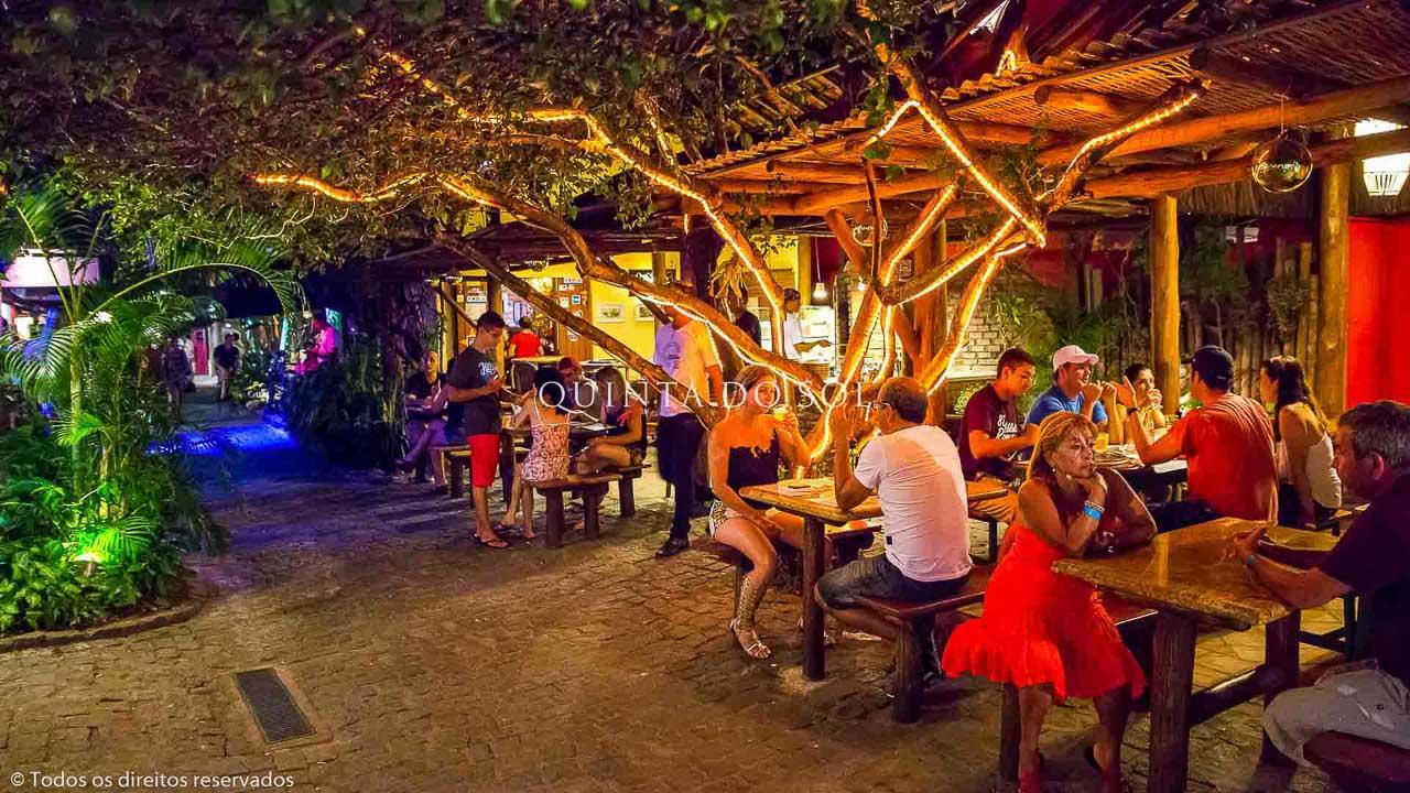 Restaurante no Beco das Cores