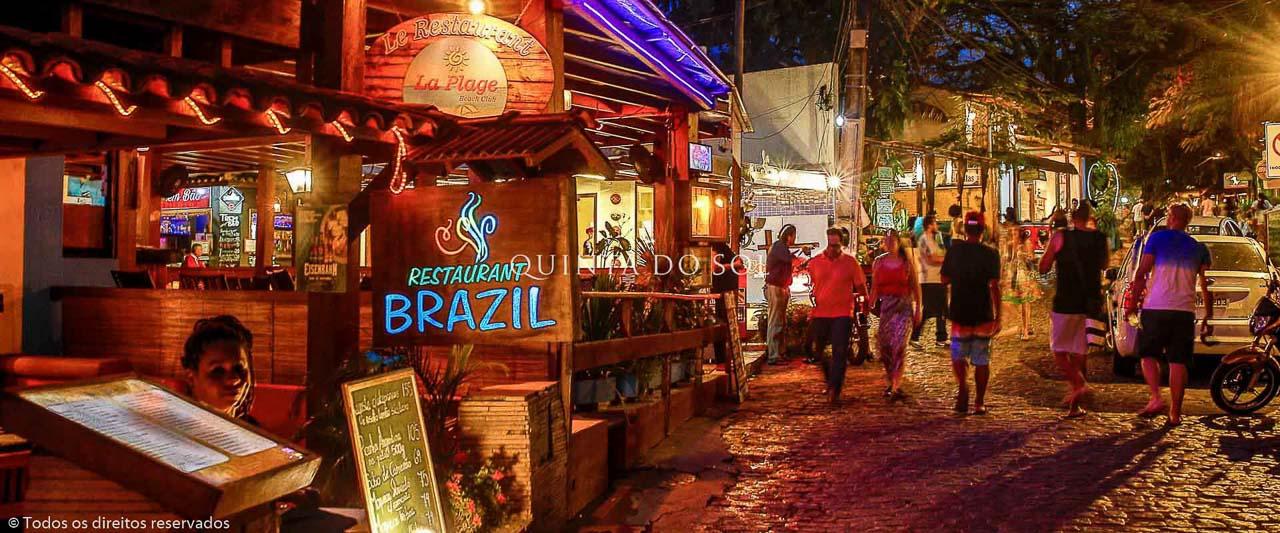 Rua do Mucugê Noite