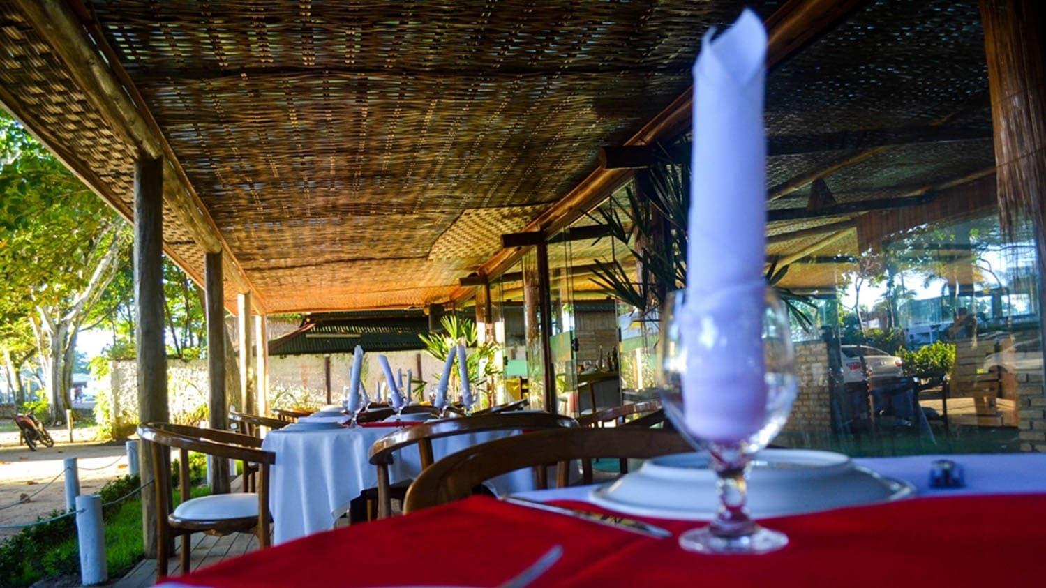 Área Interna do Restaurante Colher de Pau