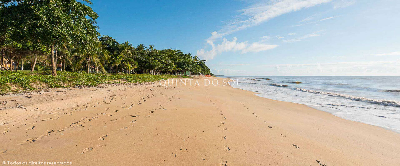 Praia de Curuípe dia de sol