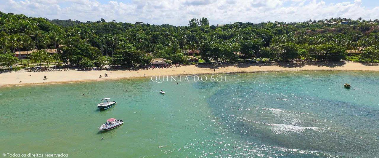 Praia do Mucugê em Dia de Sol