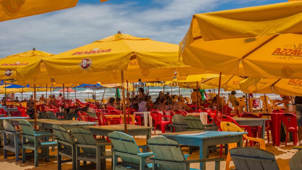 Barracas praia nativos