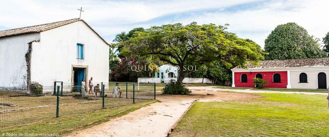 Região Bucólica no Centro Histórico de Porto Seguro