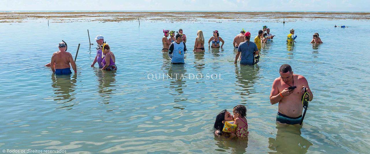 Banho de Mar no Parque de Recife de Fora