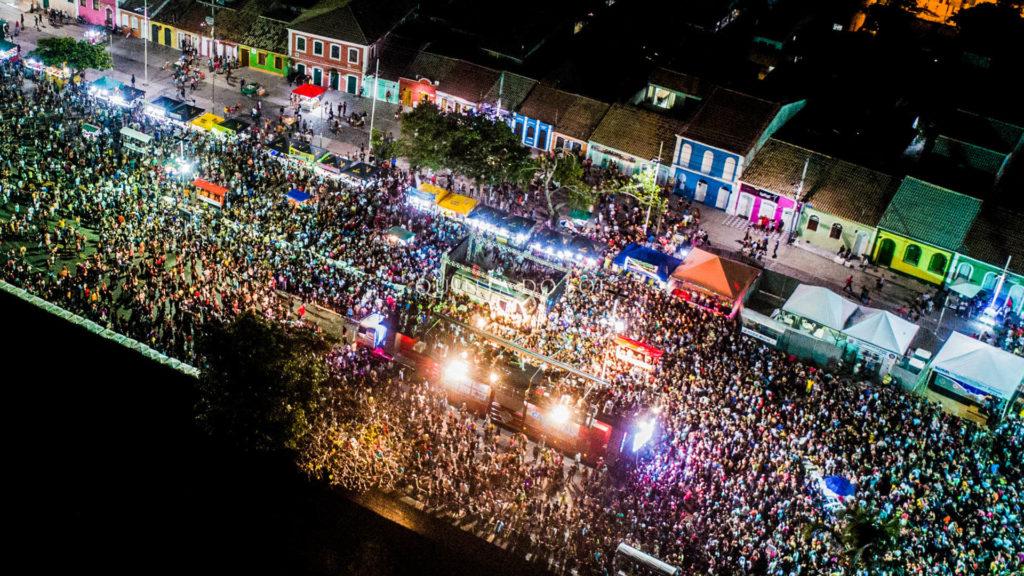 Carnaval em Porto Seguro na Passarela do Álcool