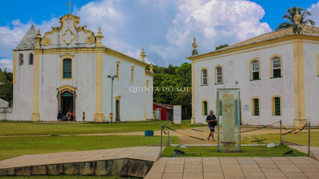 Construções históricas em Porto Seguro
