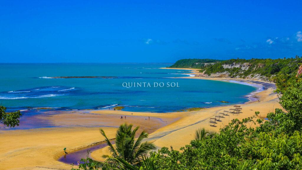 Paradisíaca Praia do Espelho em Trancoso