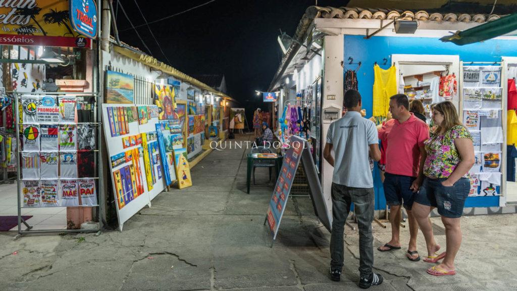 Vida noturna em Porto Seguro