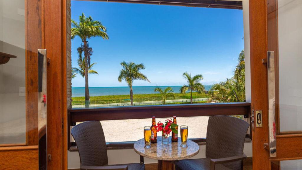 Vista do Quinta do Sol Praia Hotel