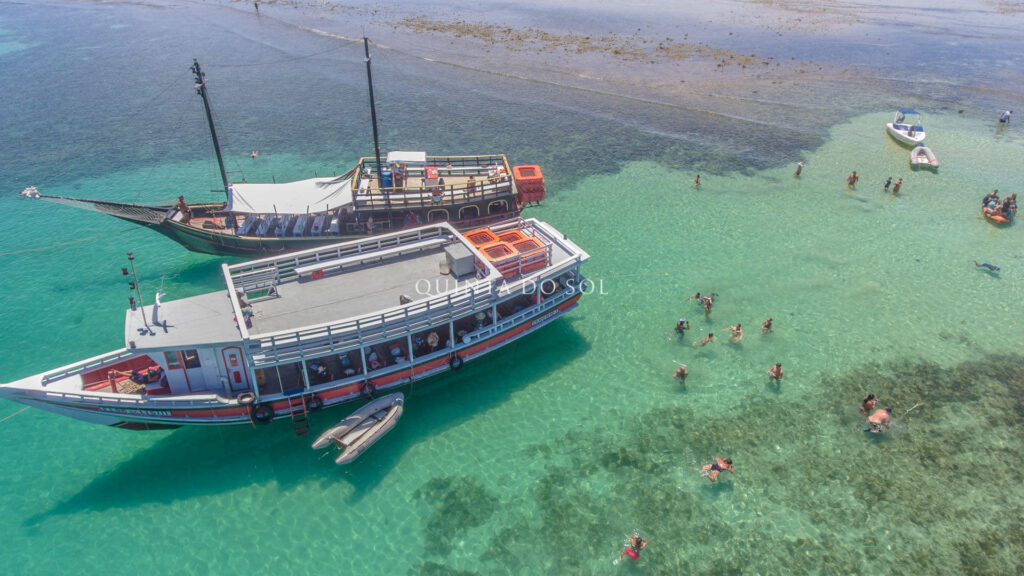 Passeio de barco Recife de Fora