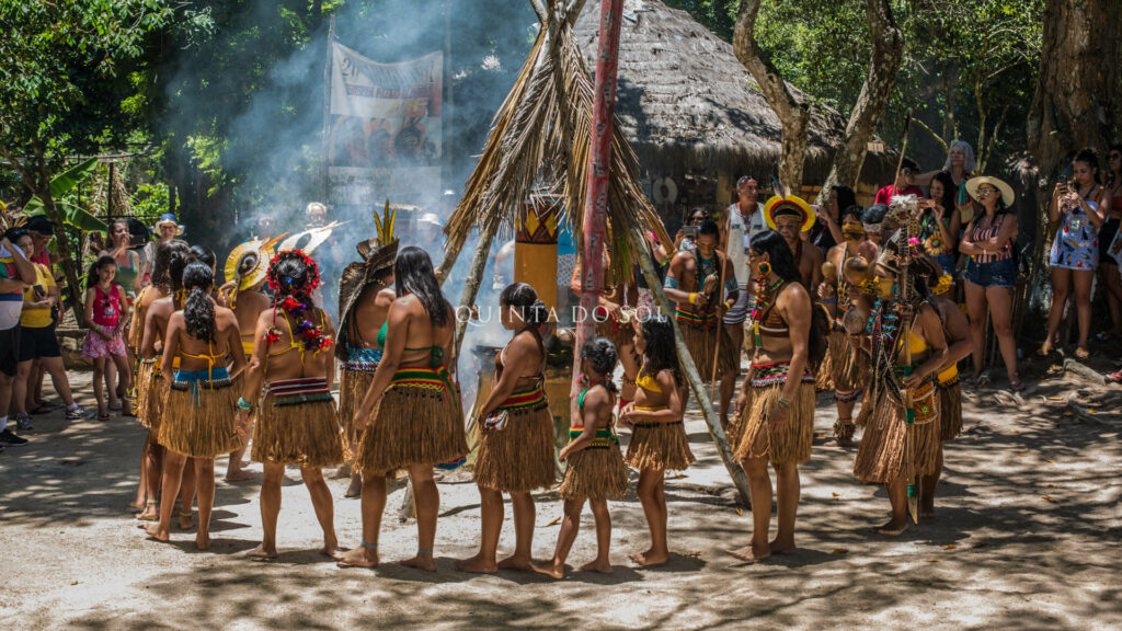 Visitas na Reserva Indígena Pataxó