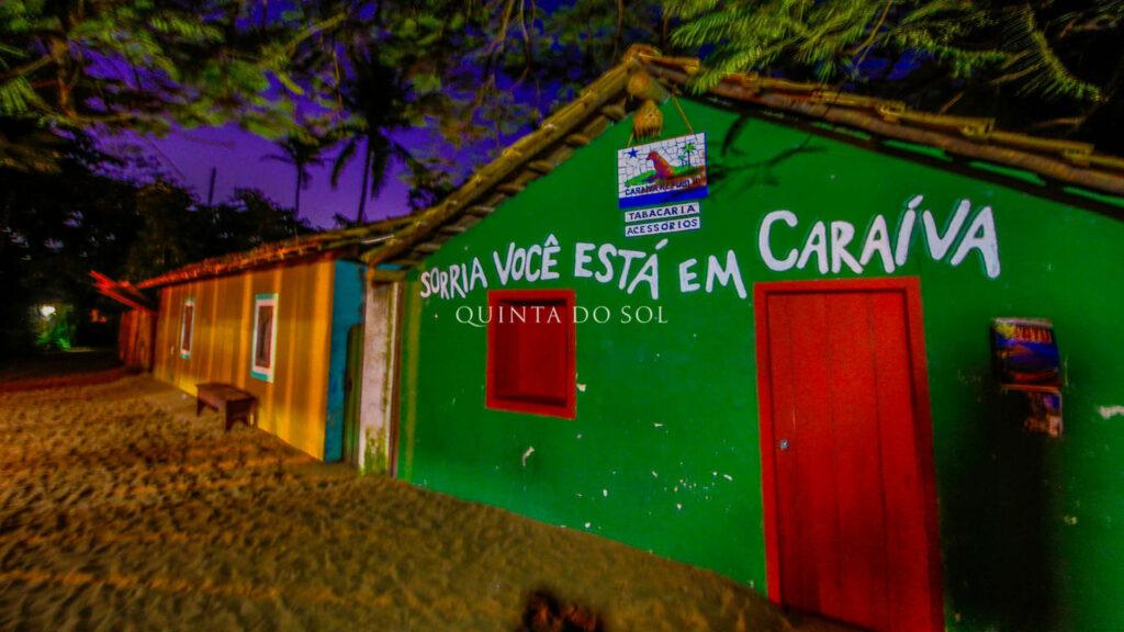 Noite em Caraíva