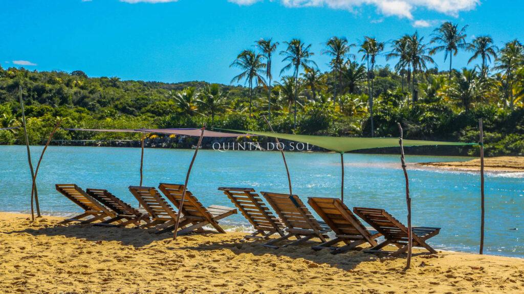 Praia de Caraíva na Costa do Descobrimento