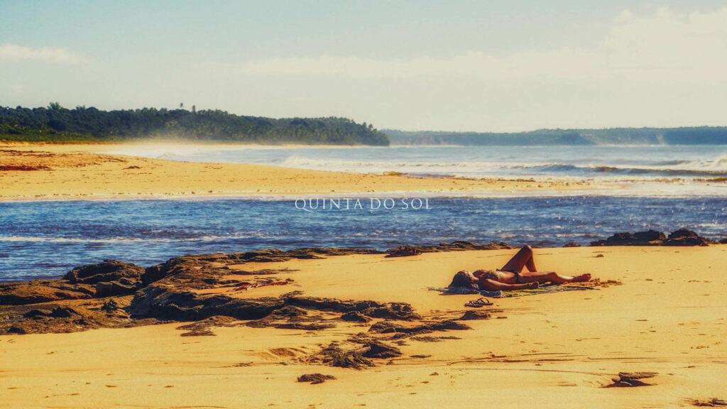 Praia de Caraiva Manhã de Sol
