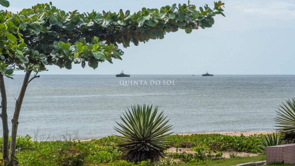Praia de Curuípe mais sossegada de Porto Seguro