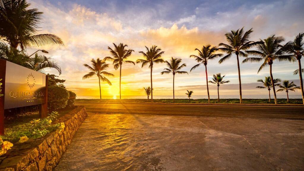 Quinta do Sol Praia Hotel amanhecer