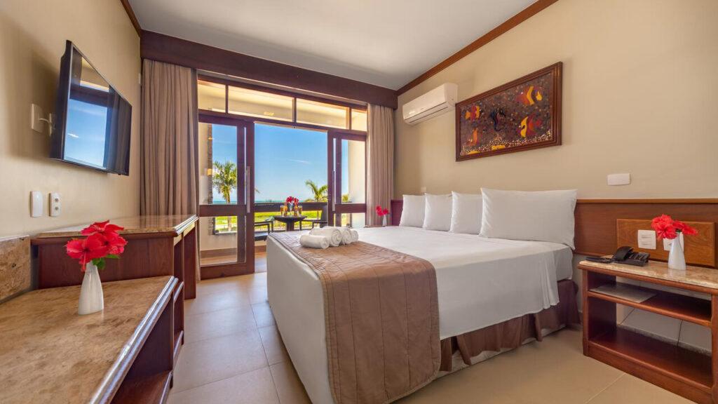 Quinta do Sol Praia Hotel Quarto Confortável